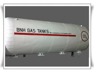 Liquid carbon dioxide Transport Tanks